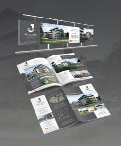 Projekt reklamy i gazetki